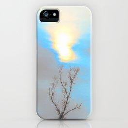 Blue Sunset iPhone Case