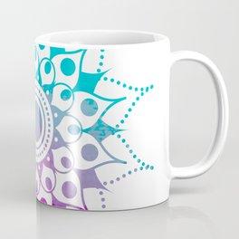 Mandala #2 (Purple Pink Turquiose) Coffee Mug
