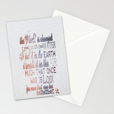 Remember it. Stationery Cards