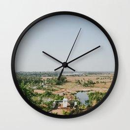 Baradi Holy Cross Chapel in Goa, India (Part II) Wall Clock