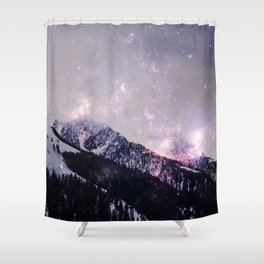 Winter howl Shower Curtain