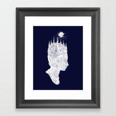 Princes Crown Framed Art Print