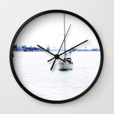 sail with me Wall Clock