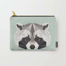 R is for Raccoon Carry-All Pouch