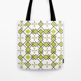 Box Repeat Pattern Tote Bag