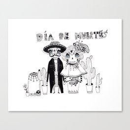 "upgrade version of ""Day of the Dead"" Canvas Print"