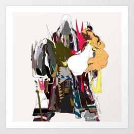 八岐乃 - YAMATANO Art Print