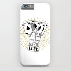 make your own luck iPhone 6 Slim Case