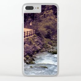 Fassa Valley Clear iPhone Case