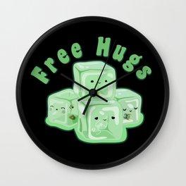 D&D - Gelatinous Hugs Wall Clock