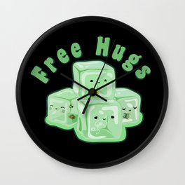 D&D - Gelatinous Hugs Wall Clock