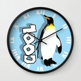 Cool Penguin Wall Clock