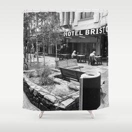 Hotel Bristol Shower Curtain