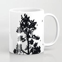 Pine Tree Flock in Bend, Oregon by Seasons K Designs Coffee Mug