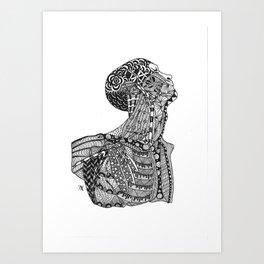 Buste Art Print