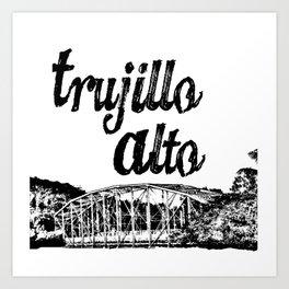 Trujillo Alto Art Print