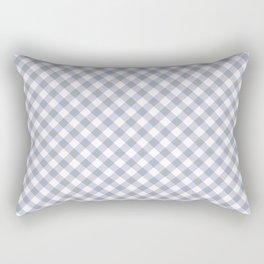 Gingham - Morning Sky Rectangular Pillow