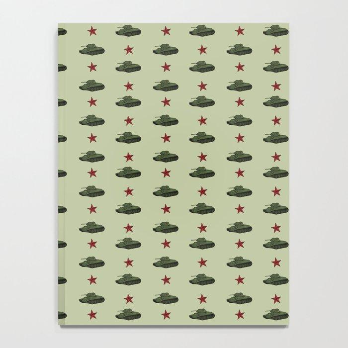 Tank pattern Notebook