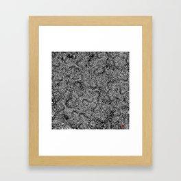 Cetipede Party 2 Framed Art Print