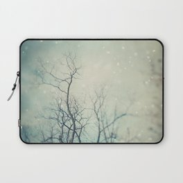 Winter Poem  Laptop Sleeve