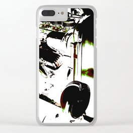 Hot Rod Clear iPhone Case