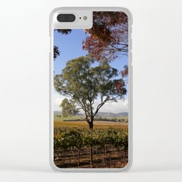 Barossa Valley Autumn Landscape Clear iPhone Case