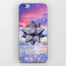 Sacred Geometry Universe 8 iPhone Skin