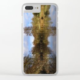 Lumsdale pool Clear iPhone Case