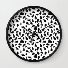 Sunflower seeds Wall Clock
