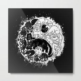 Pet Taoism Metal Print