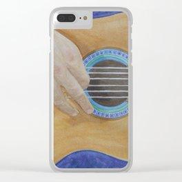 Strum Clear iPhone Case