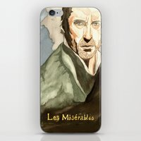 les mis iPhone & iPod Skins featuring Les Mis by Paxelart