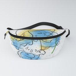Smurfette Watercolour Splash Doodle Fanny Pack
