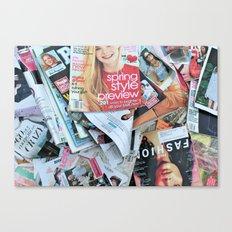 magazines Canvas Print