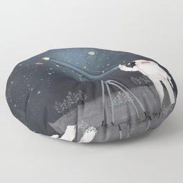 Astronaut Astrology Floor Pillow