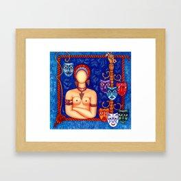 The madwoman Framed Art Print