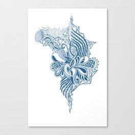 Sticky Thread Canvas Print