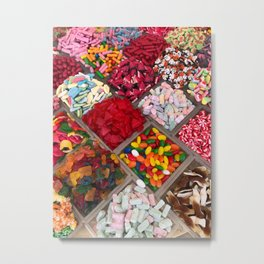 Delicious Candy Metal Print