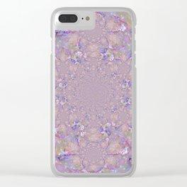 Mandala Purple Haze Clear iPhone Case
