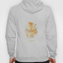 Color burst - Yellow Flowers Hoody