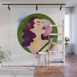 Portrait of the Artist Wall Mural