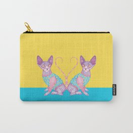 The Clowncat Carry-All Pouch