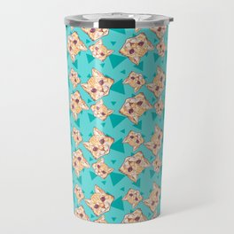 Aww Kitties Color pattern Travel Mug