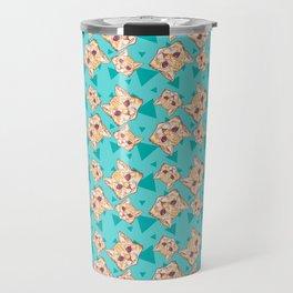 Aww Kitties Color pattern Travel Mug