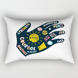 Positivity – Helping Hand Rectangular Pillow