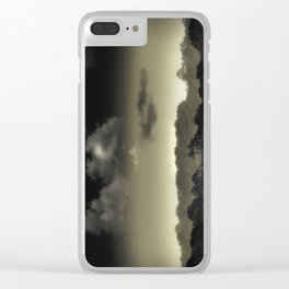 Stored in the Cloud Clear iPhone Case