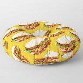 Ham Sandwich Pattern Floor Pillow