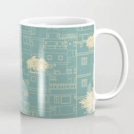 City sketch Coffee Mug