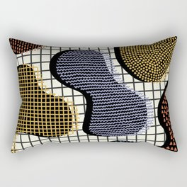 Colorful Notebook III Rectangular Pillow