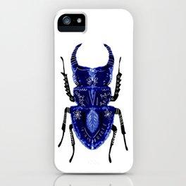 Blue Beetle iPhone Case